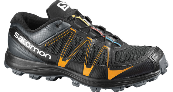 Salomon M's Fellraiser Dark Cloud/Black/Yellow Gold (L368895)